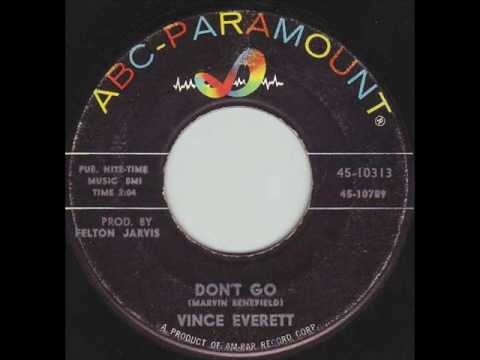 Vince Everett - Don't Go 1962 45rpm