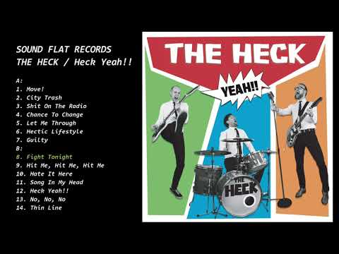 THE HECK - Heck Yeah!! LP (SFR-115)