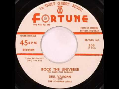 Dell Vaughn - Rock The Universe