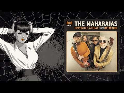 "CHAPUTA! Records - THE MAHARAJAS: Opposites Attract 7"" - Teaser"