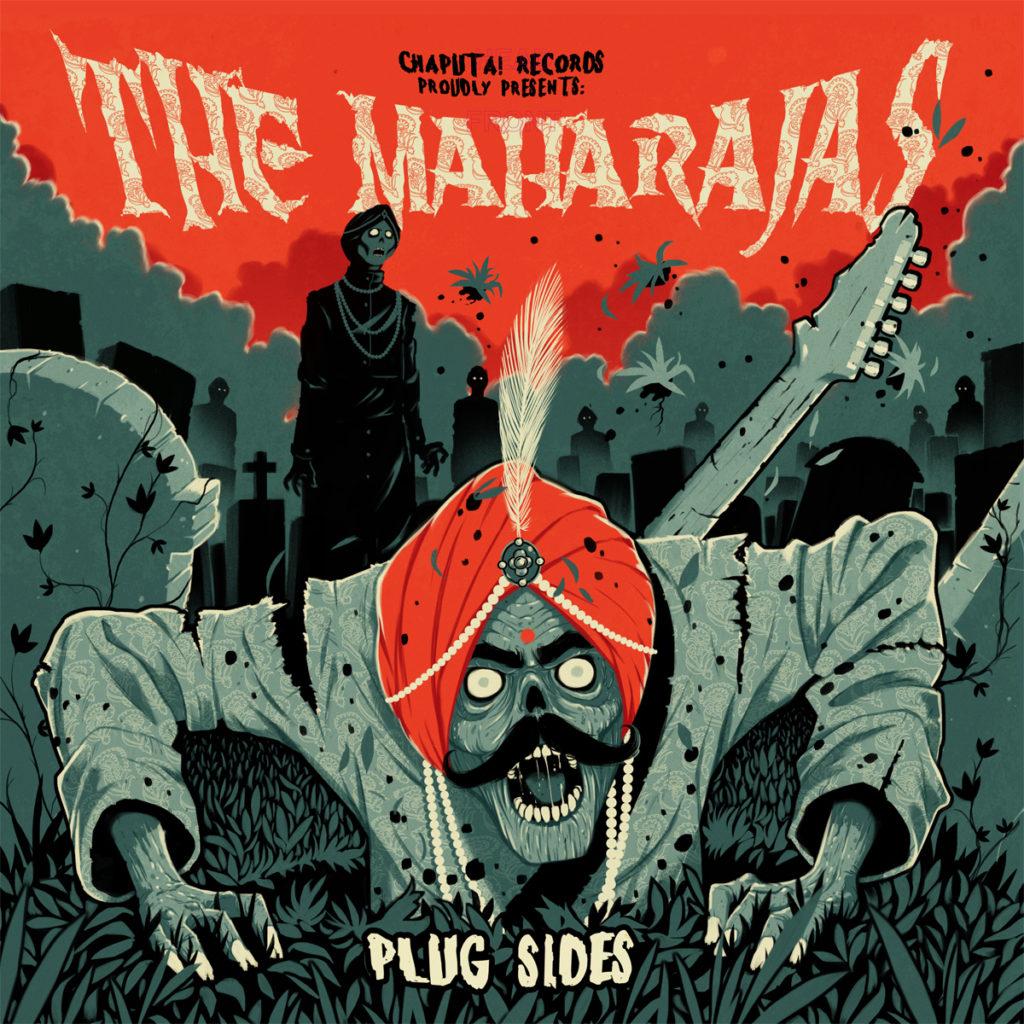 The Maharajas - Plug Sides 2xLP