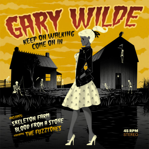 "Chaputa! - Gary Wilde - Keep On Walking 7""EP"