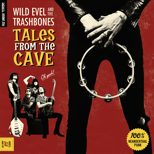 Chaputa! - Wild Evel - Tales From The Cave LP