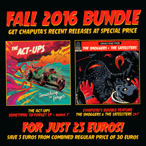 Chaputa! - The Act-Ups + The Satelliters / The Smoggers Bundle