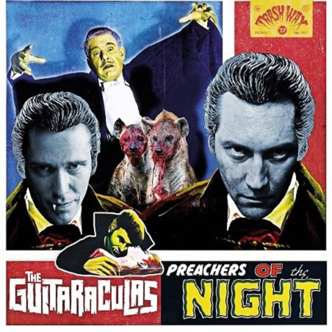Chaputa! - Guitaraculas - Preachers of The Night LP